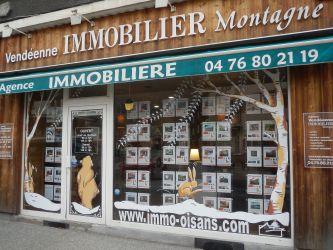 Agence immobilière Bourg d'Oisans - Vendéenne Immobilier Montagne